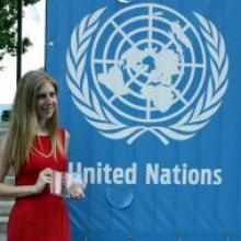 """""""Shannon McNamara"""" """"UNITED NATIONS YOUTH ACHIEVEMENT RECOGNITION AWARD"""" """"UN"""" """"SHARE in Africa"""""""