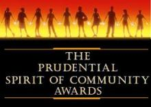 """""""Shannon McNamara""""  """"SHARE in Africa"""" SHARE """"NATIONAL PRUDENTIAL SPIRIT OF THE COMMUNITY AWARD"""""""