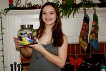"""Olivia helps raise money for girls education in Tanzania through """"SHARE in Africa"""""""
