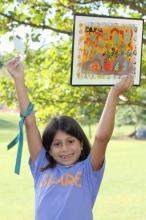 """Cara Wettasinghe"" ""SHARE in Africa"" artwork fundraising donations"