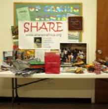 """Shannon was invited to present about girls education in Tanzania and """"SHARE in Africa"""" by Girl Scouts of Eastern Pennsylvania"""