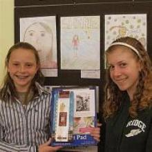 """Hannah was inspired by """"SHARE in Africa""""'s work with empowering girls in Tanzania through education"""