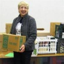 """Piscataway Library donates books to """"SHARE in Africa"""" for the girls in Tanzania"""