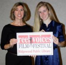 Shannon spoke at Ridgewood Film Festival promoting girls education in Tanzania
