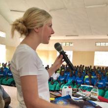 """Shannon McNamara"" ""Shannon Hill McNamara"", Founder, SHARE in Africa"
